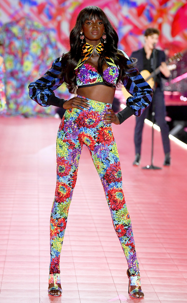 Duckie Thot, 2018 Victoria's Secret Fashion Show, Runway